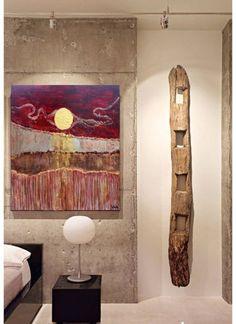 Lunar Dusting - Original Painting