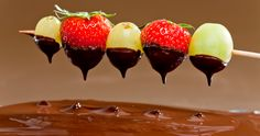 A Chocolate Fondue Party!   The Nutrition Post