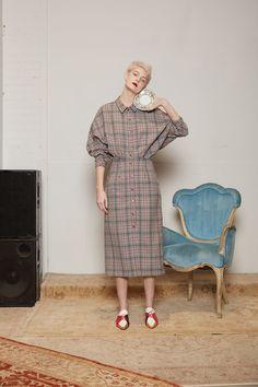 #inspo #editorial #diekaro #thefrankieshop New York Fashion Week // Die Karo, Vichy & Hahnentritt-Offensive | Jane Wayne News