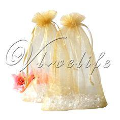 """Favour"" bags 50 - £2.77  http://www.ebay.co.uk/itm/50PCS-4-x6-10cmx15cm-Sheer-Organza-Wedding-Favor-Gift-Candy-Bag-Pouch-Xmas-/400257750938?pt=AU_Women_Bags_Handbags&var=&hash=item5d3138979a"
