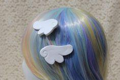 Magical Girl Wing Hair Clips mahou fairy pastel kei kawaii | Etsy Hand Cast, It Cast, Kawaii Accessories, Magical Girl, Hair Clips, Super Cute, Fairy, Pastel, Etsy