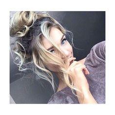 Tips para que tu cabello te haga ver más sexy en las fotos ❤ liked on Polyvore featuring hair and hairstyles