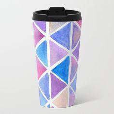 Galaxy Origami Travel Mug by lorimoro Travel Mug, Origami, Mugs, Metal, Stuff To Buy, Products, Cups, Paper Folding, Metals