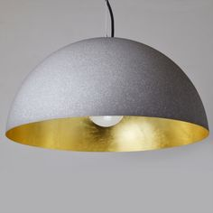 Pendel /& Hängeleuchte PARA CONE 30 E27 schwarz//innen gold by LIGHT LIVING