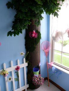 DIY Tree for bedroom corner