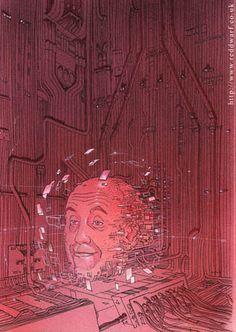 Moebiusesque Red Dwarf art by Sylvain Despretz