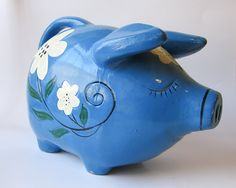 Save moolah! I used to have (and maybe still do) this exact piggy bank :)