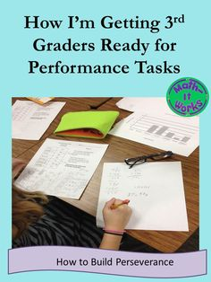 I've just updated my blog on our year-long performance task experience. How do you get students ready for performance tasks? Some key things we learned along the way.