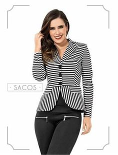 sastres de mujer - Buscar con Google Dope Fashion, Fashion Wear, Fashion Dresses, New Mode, Fashion Runway Show, Professional Wear, Cute Jackets, Work Attire, Blazers For Women