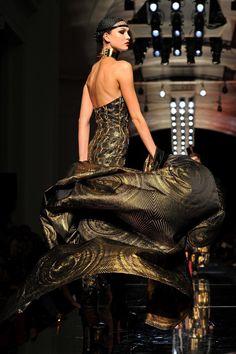 Karlie Kloss at Jean Paul Gaultier