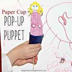 Make your own easy pop-up puppets with readily available materials. These are wonderful for pretend and imagination play.