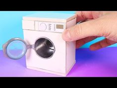 DIY Miniature Washing Machine ~ Mini Washer - YouTube