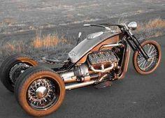 custom bike flat head powered trike