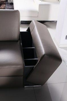 ONEX - kanapa narożna, narożnik wypoczynek skórzany, funkcja spania, przesuwane oparcia, barek na napoje *** TC MEBLE Smart Furniture, Sofa Furniture, Pallet Furniture, Furniture Makeover, Modern Furniture, Furniture Design, Furniture Ideas, Furniture Storage, White Furniture