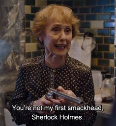 Mrs Hudson - The Lying Detective