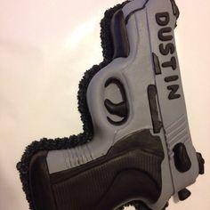 Gun cake this one (plz) plese