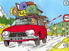 Citroen GS - Tintin
