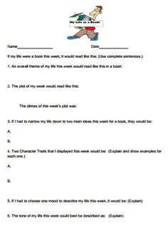 """FREE!  """"MY LIFE AS A BOOK""""  CREATIVE WAY FOR YOUR STUDENTS TO PRACTICE INFORMATIONAL TEXT FEATURES!"""