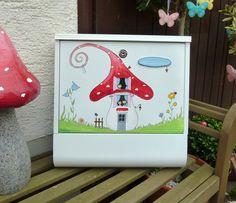 Briefkasten....Fliegenpilz von KirSchenrot via dawanda.com