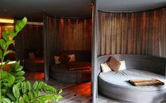 Neu: Im Heimat Spa des Bodenmaiser Hofes gibt es zahllose Ruhe-Ecken zum Entspannen.