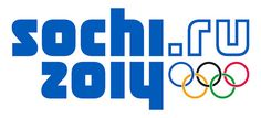 interbrand: sochi winter olympics 2014 branding/the system is made up of a web address logo 'sochi2014.ru' and a blue and white 'snow crystal pattern'.