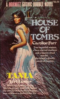 via Pulp Librarian caroline farr Best Horror Movies, Horror Books, Vintage Gothic, Vintage Horror, Gothic Books, Pulp Fiction Book, Vintage Book Covers, Gothic Horror, Mystery Novels