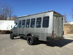 lifted shuttle bus conversion