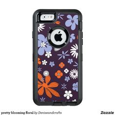 pretty blooming floral OtterBox iPhone 6/6s case
