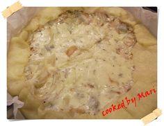 Quiche al gorgonzola e cipolla  (Gorgonzola and onions' quiche)