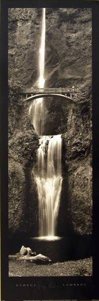 Waterfall | Scenic | Hardboards | Wall Decor | Plaquemount | Blockmount | Art | Pictures Frames and More | Winnipeg | MB | Canada Black N White Images, Black And White, Landscape Artwork, Some People Say, Wall Decor, Wall Art, Art Pictures, Picture Frames, Fountain