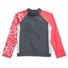 UV Protection clothing Long Wave from Nipper Skipper sailing kids rash vest girls