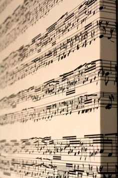 Your Sheet Music Or Song On Canvas, Great Home Decor Item, Gift For Musicians, Singers or Much More.