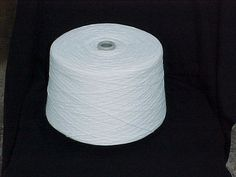 Bleach White 2/17 Acrylic Yarn by stephaniesyarn on Etsy, $26.00