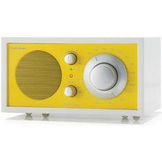 Frost White Collection Model One® Radio - modern - home electronics - Tivoli Audio Tivoli Radio, Radio Vintage, Modern Home Electronics, Young House Love, Retro Radios, Model One, Room To Grow, Cabinet Making, Retro Vintage