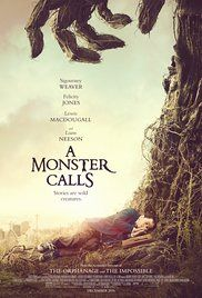 A Monster Calls - based on book by Patrick Ness. Sarring Lewis MacDougall, Sigourney Weaver. Released Jan. 6, 2017.