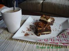 El sabor de mi cocina...: Brownie de tarta de queso