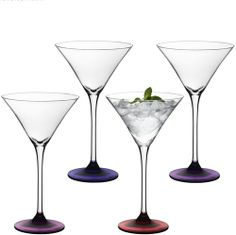 Cocktail glass Coro, radiant orchid, set of 4 | desiary.de - identity store