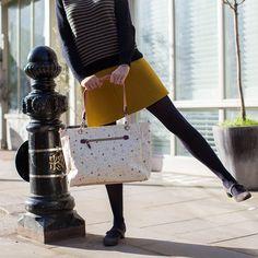 Bramley Tote Changing Bag | Pink Lining