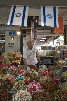 Carmel Market . Tel Aviv