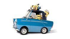 Minions leuk. Auto's leuk. Super leuk