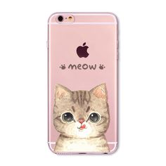 "Fundas Mobile Phone Bags Case Cover for iphone 6 6S 4.7"" Soft Slim TPU Transparent Soft Cute Animal Cat Owl Rabbit Printed Style-in Phone Bags & Cases from Phones & Telecommunications on Aliexpress.com 