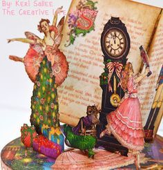 graphic 45 12 nutcracker sweet projects - Google Search