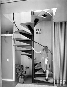 The Eames House, 1951, LIFE Magazine typography-design-inspiration