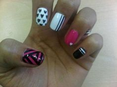 Mix & Match, cute... or any one as an #accentnail