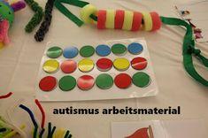 Autismus Arbeitsmaterial: Imitation von Modellen: Kreise
