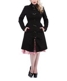Black Toggle Jacket