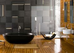 The purity of water, the energy of stones, and the warmth of wood: Nature's poetic language becomes the source of a pleasurable new approach to well being. NEUTRA is an original collection of bathroom furnishings and fittings whose harmony of shapes and spontaneity of materials reconcile the body and mind to the most authentic rhythms of life.
