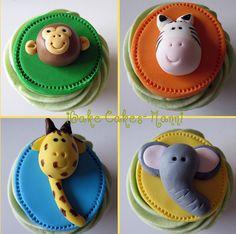 A-Z Cupcake Animals | Party Cupcake Ideas