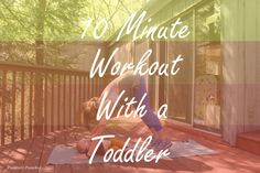 What? What? Guess who is back with more workouts??? The last few months of juggling life, Luna and the blog have been challenging. I am trying so hard to manage everything without ever having a sit…