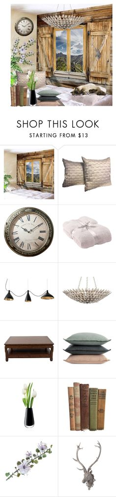 """""""Untitled #58"""" by eclipse1221 ❤ liked on Polyvore featuring interior, interiors, interior design, home, home decor, interior decorating, Barefoot Dreams, Crystorama, Ralph Lauren and Design Within Reach"""